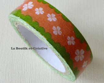 Roll 10 m adhesive tape clover lucky charm!