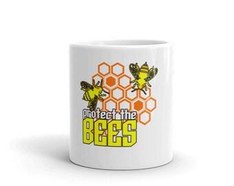 Protect The Bees Mug