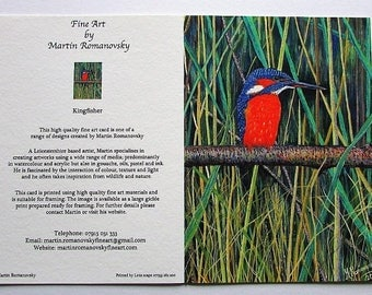 Giclée Fine Art Cards by Martin Romanovsky sold individually, in same-design sets or mixed sets based of your choice.