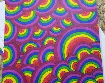 Zentangle Rainbow