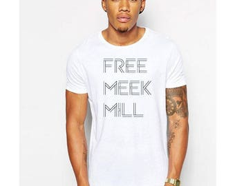 Free meek Mill/ Meek mill matching t shirts / hip hop meek mill t-shirts/