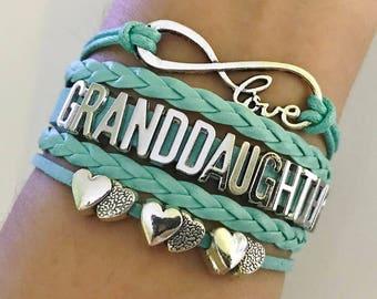 Granddaughter gift etsy granddaughter bracelet granddaughter gift grandmother gift granddaughter jewelry granddaughter birthday gift negle Gallery