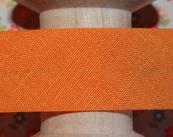 Bias orange sewing, sold by the yard - 304 13.