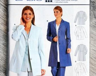 Pouch pattern Burda 2673 - Lady jacket blazer