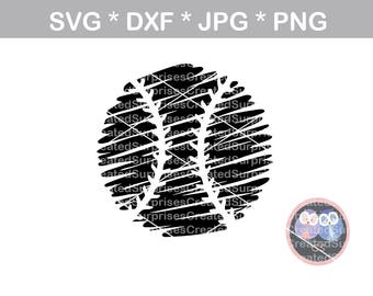 Scribble ball with laces, svg, dxf, png, jpg digital cut file for cutting machines, personal, commercial, Silhouette Cameo, Cricut
