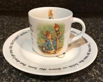 Peter Rabbit Teacup & Saucer