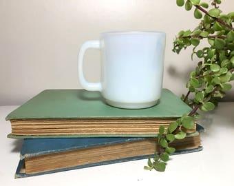 Vintage Glasbake Translucent Mug