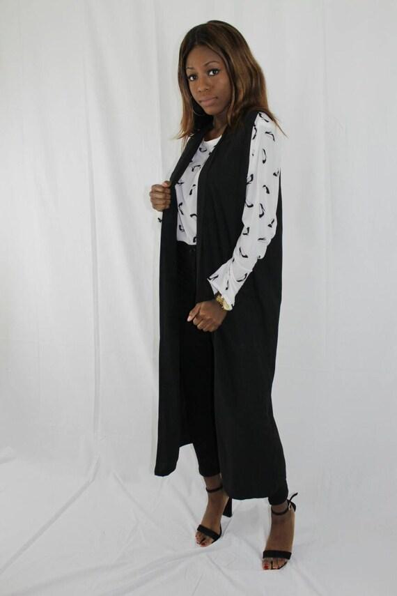 Bibi Black Women's Sleeveless Blazer Dress