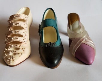 Just the Right Shoe Trio - Suffragette, Elegant Affair and Promenade - by Raine Willitts Designs