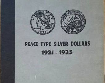 Peace silver dollars 1921-35