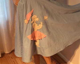 Poodle Skirt made by Jo Collins size small