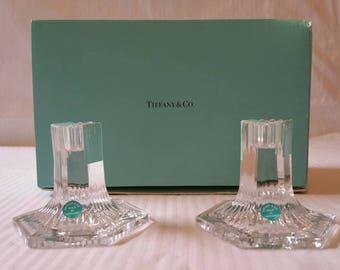 Vintage Tiffany Candlestick Etsy