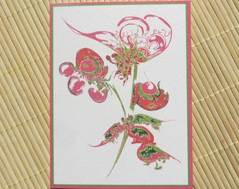 4 greeting cards happy birthday