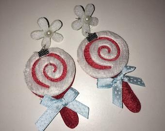 Lolipop earrings