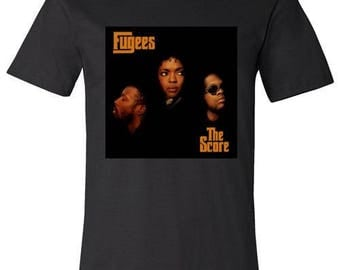 Old School Hip Hop Rap Shirt of the Fugees Small to XXL