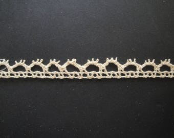 Old openwork lace crochet
