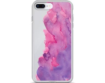 iPhone Case watercolor,iphone cover watercolor,watercolor pink purple,iphone case watercolor