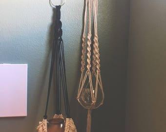 Macrame dolly & Original plant hanger