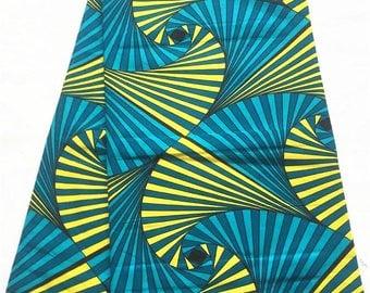 Java wax print /African print fabric / Ankara Fabric / Wax Print 100% cotton, 6yards.
