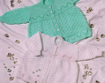 Matinee Coat, Knitting Pattern, Instant Download.