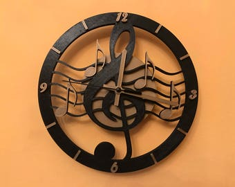 Clock in SOL key from wall