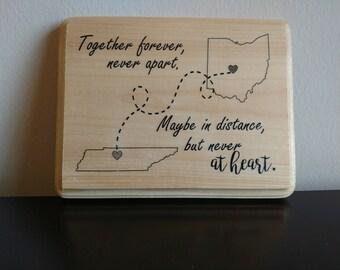 Together Forever Wood Plaque