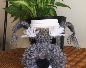 Dogs cup cozies