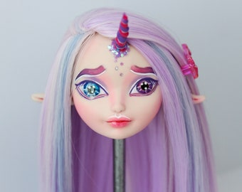 Ever After High OOAK   Holly O'Hair   Custom Repaint Doll (Only the head)