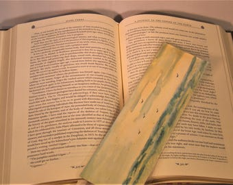 Waterscolour Sea Scape Bookmark
