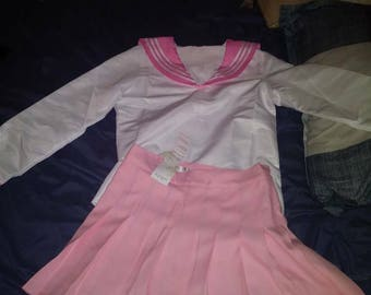 School girl Kawaii sailor outfit