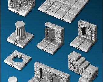 Dragonlock Modular Dungeon Tiles Set II