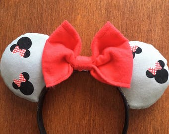 Minnie Mouse inspired mickey ears