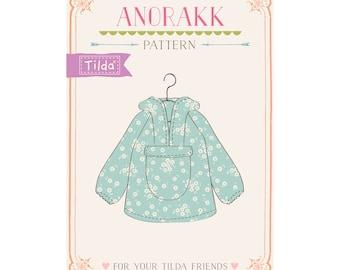Pattern jacket Tilda Friends