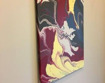 Modern art - acrylic on canvas