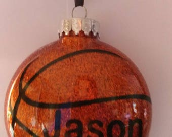 Basketball ornament **Free Shipping**