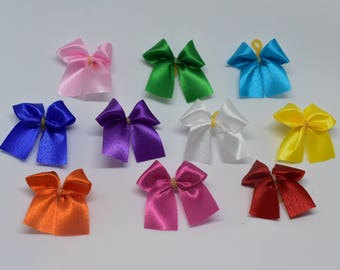50 ct Mini Standard Dog Grooming Bows