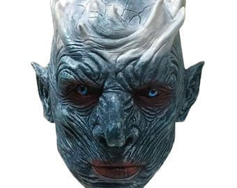 Game of thrones Night King White Walker Mask Limited Altered for Authenticity