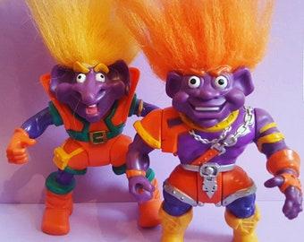 2 Troll Warriors Action Figures