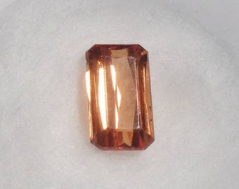 Orange Spessartite Garnet 1.87ct Natural Loose Octagon Cut Faceted Gemstone
