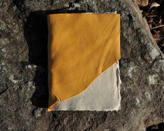 Leather Cotton Rag Journal
