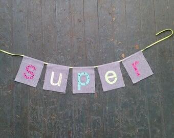 SUPER banner (Denim Feel-Good series)
