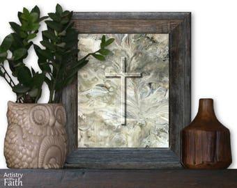 Christian Wall Art, Christian Art, for Pastor, Christian Gift, Religious Gift, Christian Home Decor, Spiritual Art, Christian Faith
