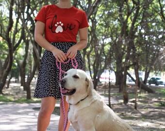 Gift For Her - Dog Lover - Dog Shirt - Dog Art - Gifts For Dog Lovers - Dog Lovers T Shirt - Dog Lovers Tee