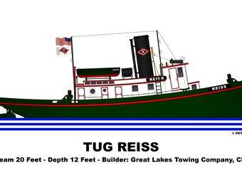 Great Lakes Tug Reiss