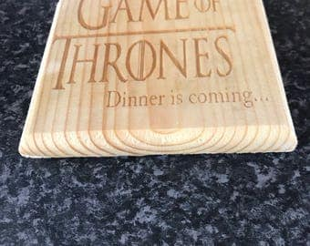 Game of thrones dinner os coming coasters (4)