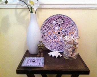 Mosaic plate large
