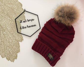 Lyv - Burgundy - adult Hat