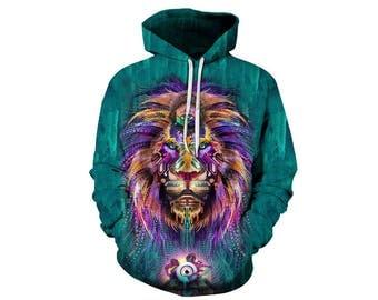 Lion Hoodie, Lion, Lion Hoodies, Animal Prints, Animal Hoodie, Animal Hoodies, Lions, Hoodie Lion, Hoodie, 3d Hoodie, 3d Hoodies - Style 22