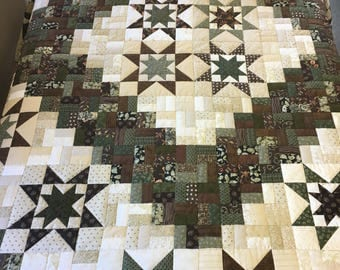 Totally Decafinated Quilt Amish Country
