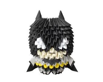 3D Origami Batman